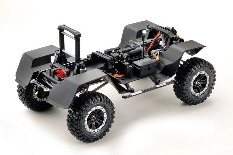 "1:10 EP Crawler CR3.4 ""KHAMBA"" ORANGE RTR - Image 7"